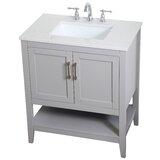 Ione 30 Single Bathroom Vanity Set by Beachcrest Home