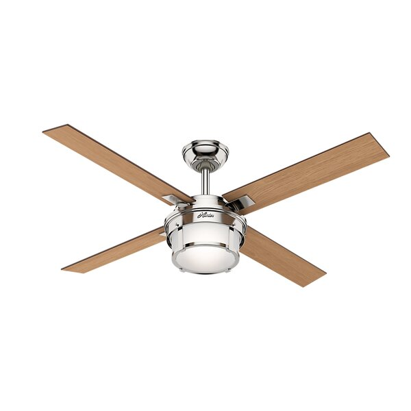 52 Maybeck 4 Blade Ceiling Fan with Remote by Hunter Fan