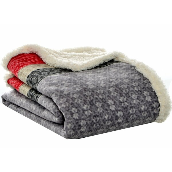 Fairisle Sherpa Throw by Eddie Bauer
