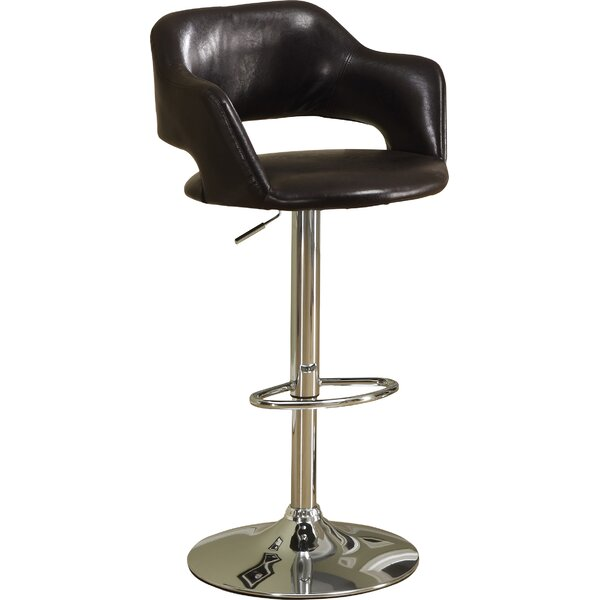 Adjustable Height Swivel Bar Stool by Monarch Specialties Inc.