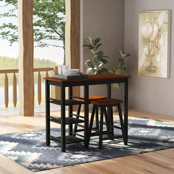 Berrios 3 Piece Dining Set By Loon Peak