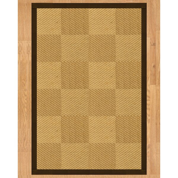 Osaka Hand Crafted Fudge Area Rug by Natural Area Rugs