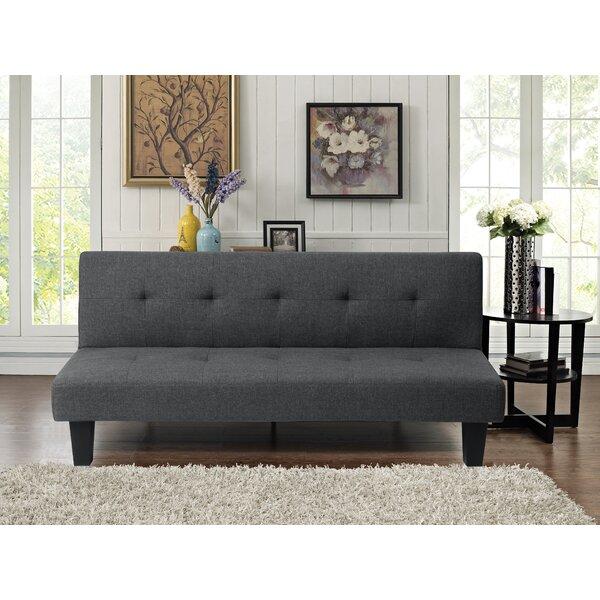 Review Terrington Twin Tufted Back Convertible Sofa