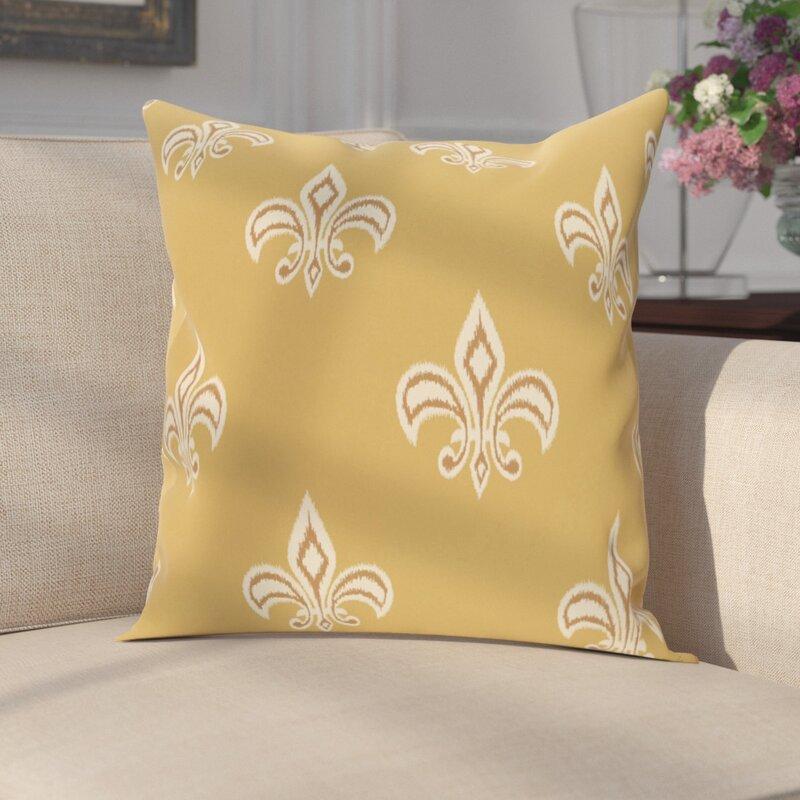 Hearns Fleur De Lis Throw Pillow