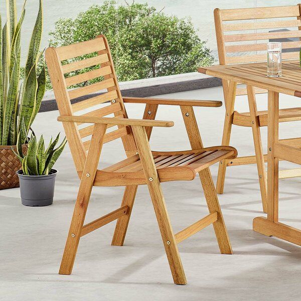 Sharice Patio Dining Chair by Highland Dunes