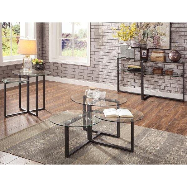 Kopstal 3 Piece Coffee Table Set by Brayden Studio Brayden Studio