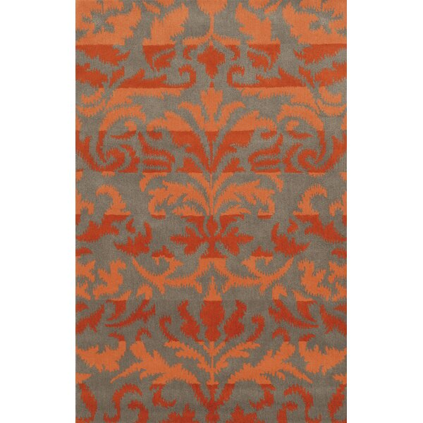 Adiva  Hand-Tufted Red/Orange Area Rug by Wildon Home ®