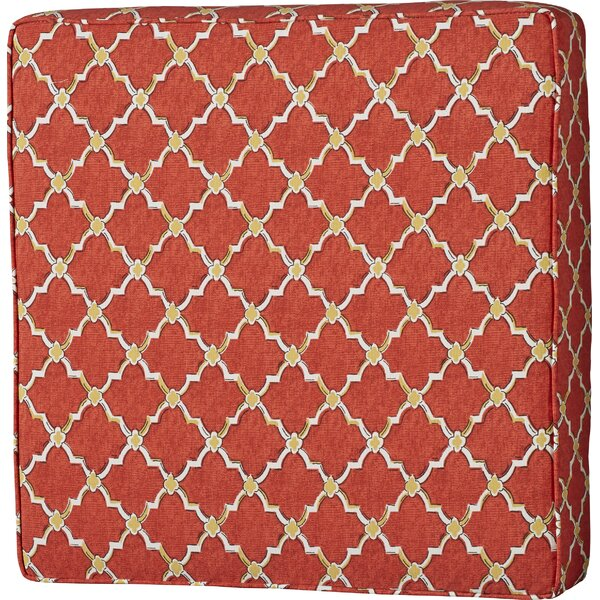 Maynes 22.5 Square Indoor/Outdoor Ottoman Cushion by Darby Home Co