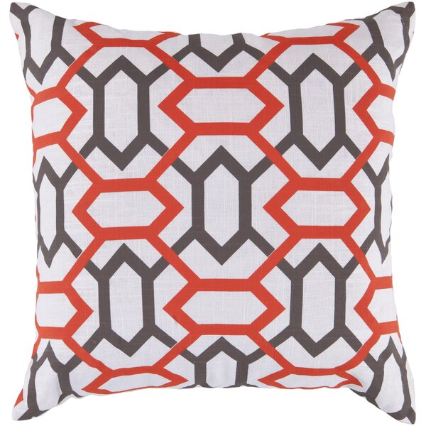 Appling the Diamonds Throw Pillow by Wrought Studio