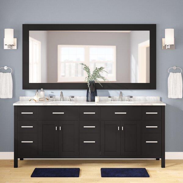 Carrasquillo 84 Double Bathroom Vanity Set