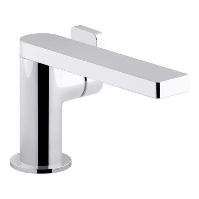 Single Handle Faucet Drain Polished Chrome photo
