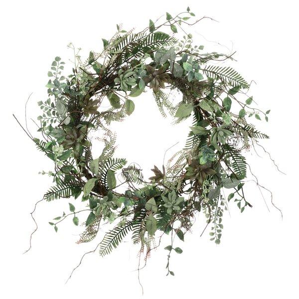 Succulent 22 Foliage Wreath by Ophelia & Co.