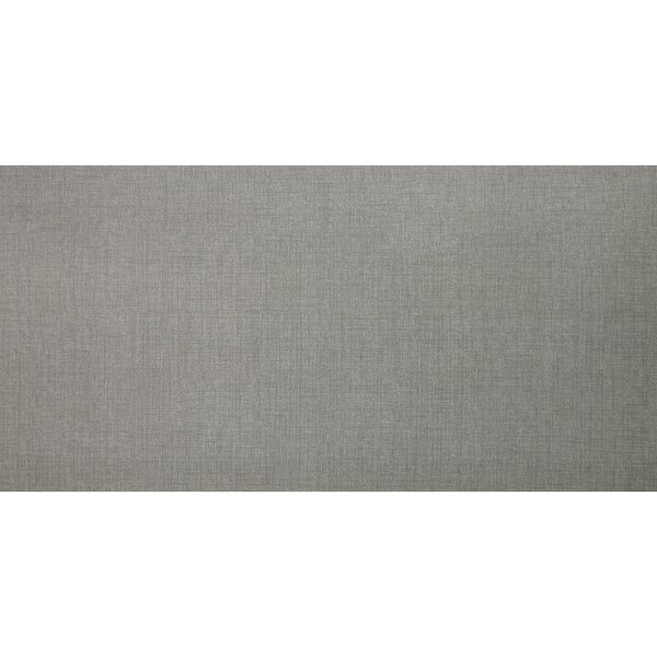 Loft Gris 12 x 24 Porcelain Fabric Look/Field Tile in Gray by MSI