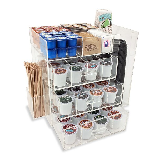 OnDisplay Acrylic Coffee Station by Vandue Corporation
