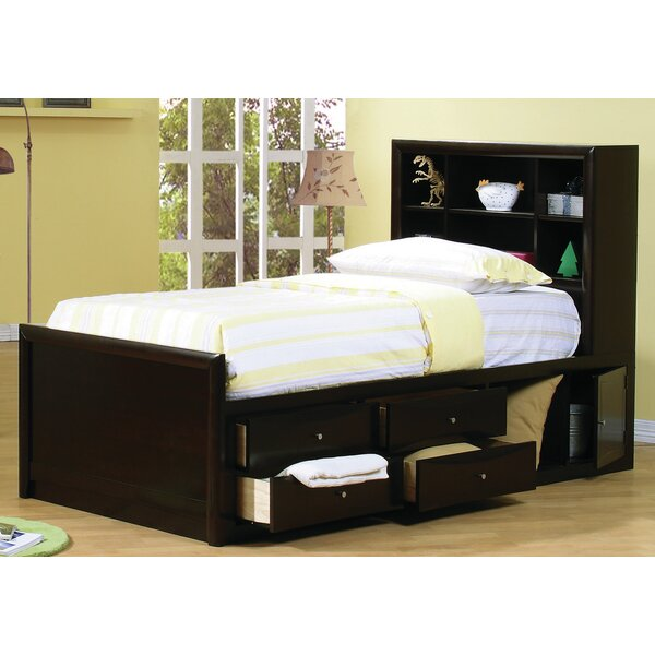 Panel Bed with Storage by Wildon Home ®
