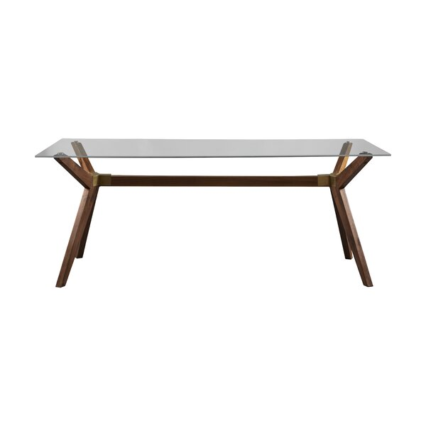 Adam Glass Dining Table by Langley Street