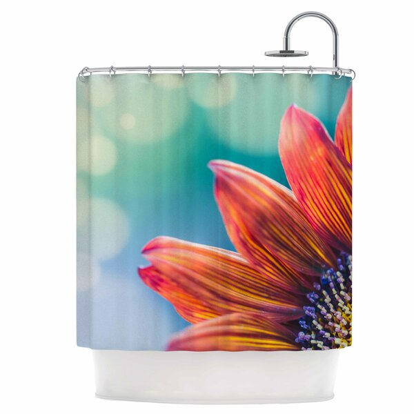 Fire & Ice Shower Curtain by East Urban Home