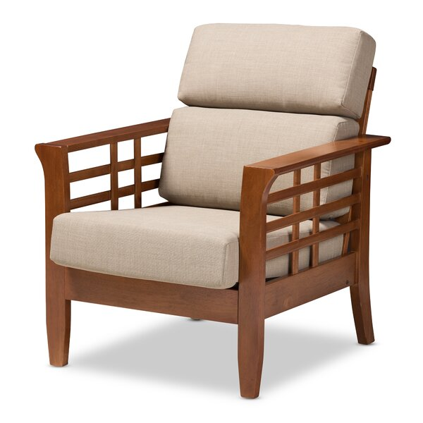 Heitz Armchair by August Grove