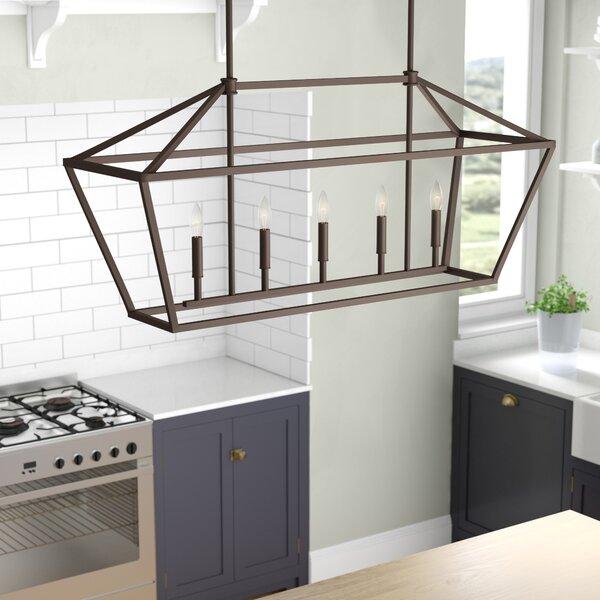 Freemont 5-Light Kitchen Island Pendant by Laurel