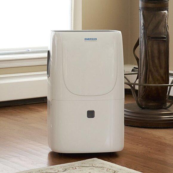Emerson 50 Pint Portable Dehumidifier by Soleus Air