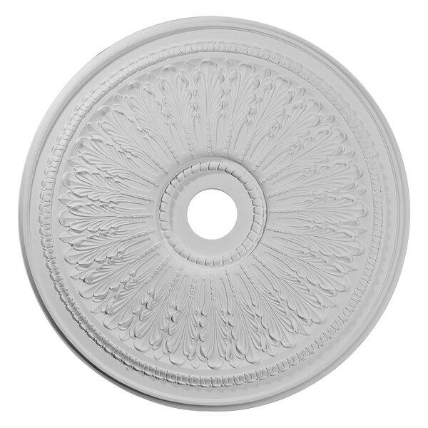 Oakleaf 29 1/8H x 29 1/8W x 1D Ceiling Medallion by Ekena Millwork