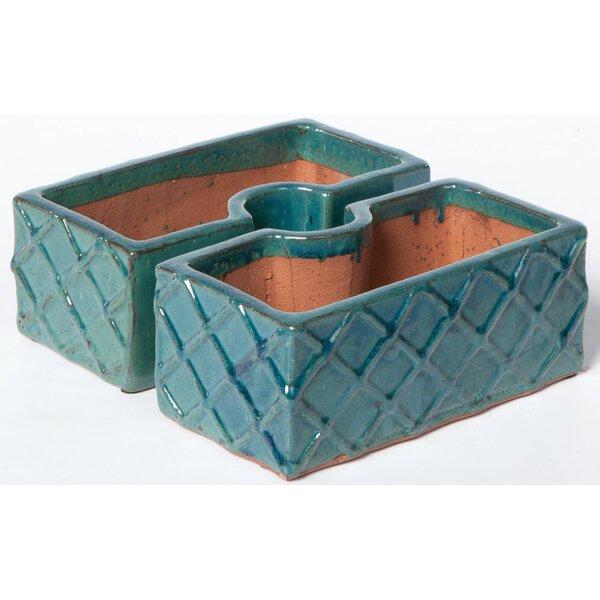 2-Piece Ceramic Pot Planter Set by Alfresco Home