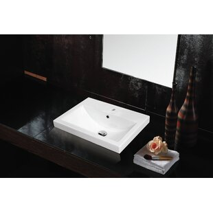 New Style Spring Porcelain Square Drop-In Sink By Jade Bath