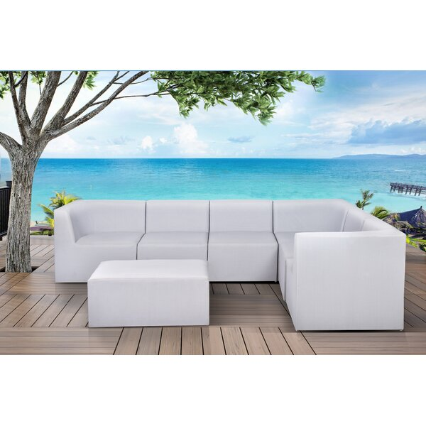 Pruett 7 Piece Modular Sectional with Cushions by Orren Ellis