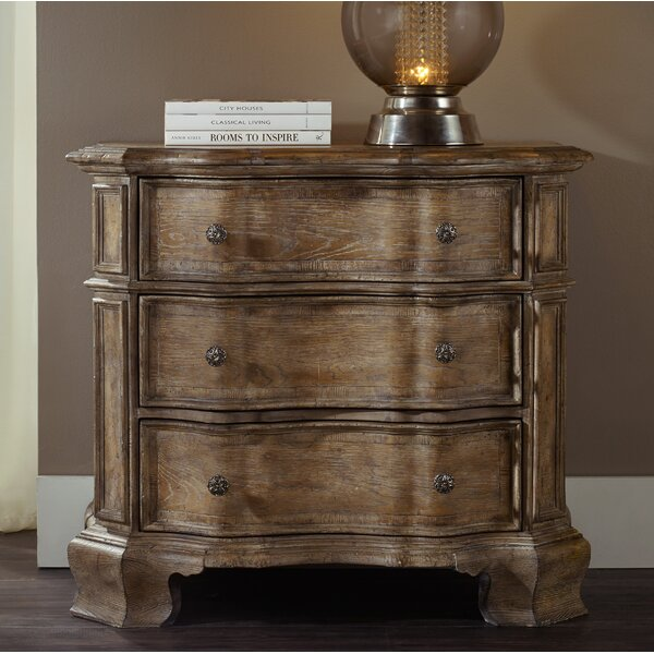Unruh 3 Drawer Bachelors Chest by Ophelia & Co.