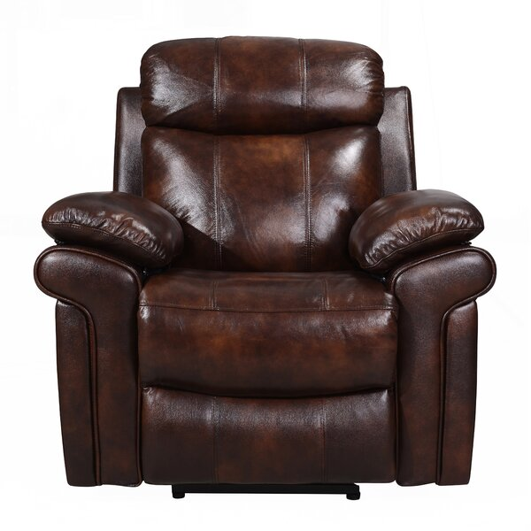 Asbury Leather Power Recliner RDBA3502