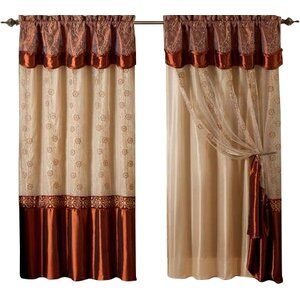 Ararat Max Blackout Rod Pocket Single Curtain Panel