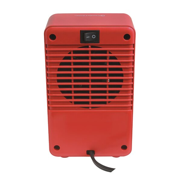Personal 200 Watt Electric Fan Compact Heater By Comfort Zone