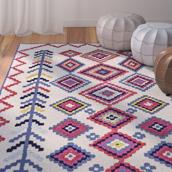 Næstved Hand Tufted Ivory Area Rug by Bungalow Rose