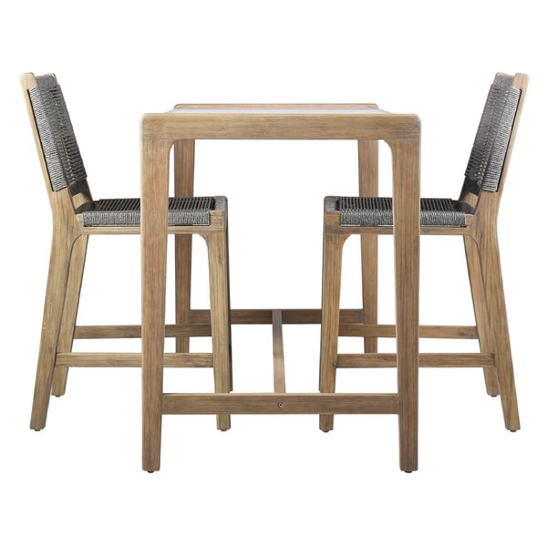 Explorer 3 Piece Bar Height Dining Set by Seasonal Living