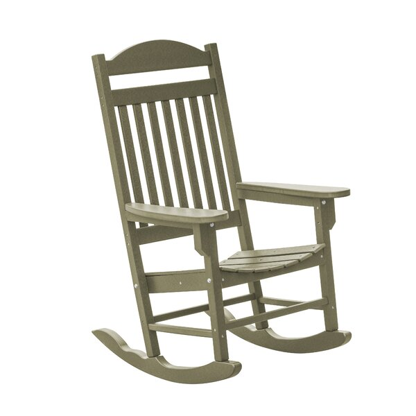 Patricia Traditional Rocker Chair by Rosecliff Heights