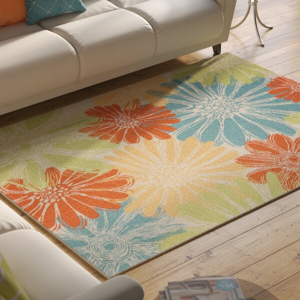 Somerville Home & Garden  IndoorOutdoor Area Rug by Latitude Run