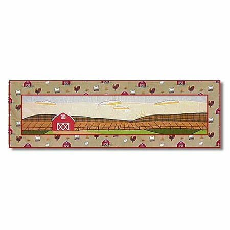 Barnyard Table Runner by Patch Magic