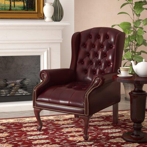 Barrymore Queen Ann Lounge Chair by Alcott Hill
