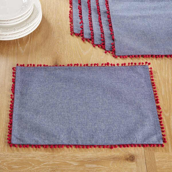 Southport Placemats (Set of 6) by Birch Lane™