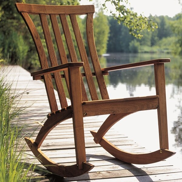 Burnes Rocking Chair By Freeport Park Great price