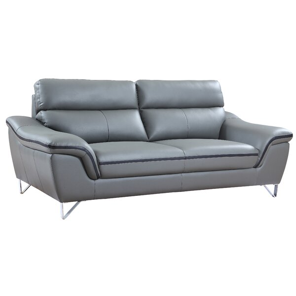 Cool Collection Matheny Luxury Upholstered Living Room Sofa by Orren Ellis by Orren Ellis