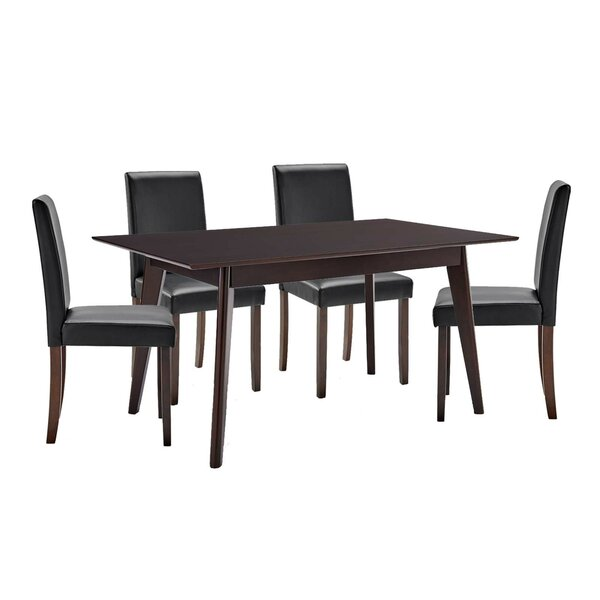 Yseult 5 Piece Dining Set by Latitude Run Latitude Run