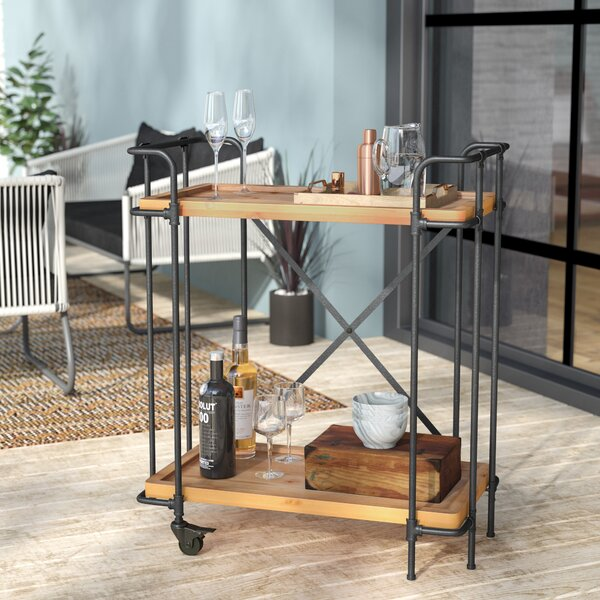 Timnath Outdoor Bar Cart by Trent Austin Design Trent Austin Design