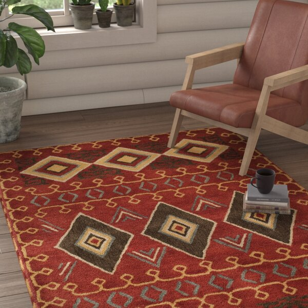 Boyd Hand-Tufted Multi-Color Area Rug by Loon Peak