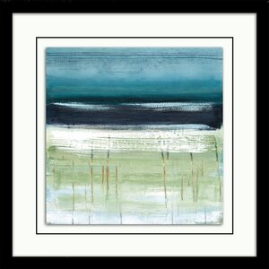 'Sea and Sky II' Framed Print by Star Creations