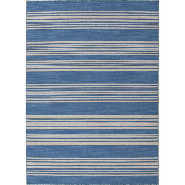 MacAdam Amistad Bermuda Blue Area Rug by Beachcrest Home