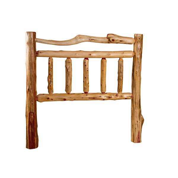 Tubbs Rustic Red Cedar Log Slat Headboard By Loon Peak by Loon Peak Design