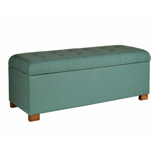 Leyland Upholstered Storage Bench by Alcott Hill
