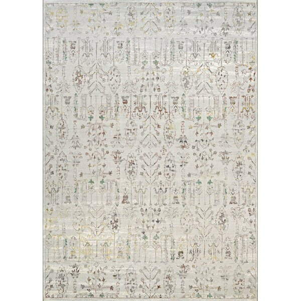 Tamsen Persian Cypress Ocean Sand Area Rug by Bungalow Rose
