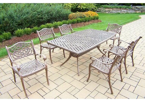 Mississippi 7 Piece Dining Set by Oakland Living